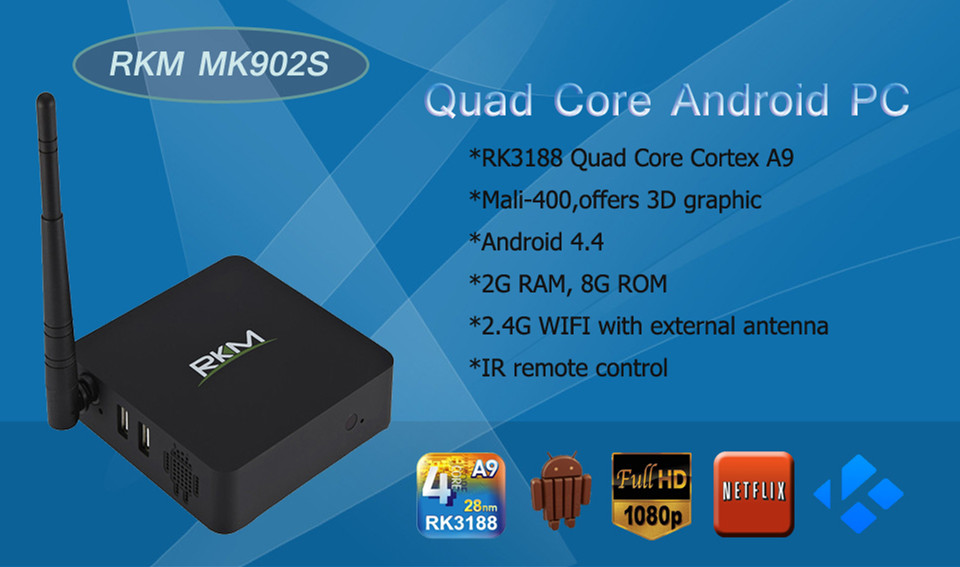 Quad Core Android PC MK902S - Android PC - Product
